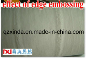 Automatic Toilet Paper Roll Edge & Full Embossing Machine pictures & photos