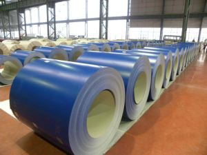 Color Coated Zinc-Aluminum Coating Steel Coil From Hfx Steel pictures & photos