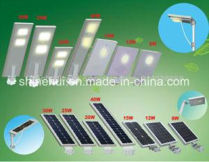 30W Solar Panel 12V Solar Street Lights Outdoor High Lumen pictures & photos