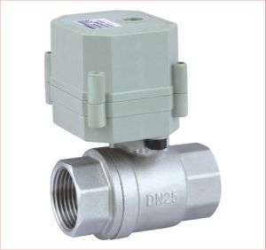 Mini Electric Actuator Valve (T25-S2-C) pictures & photos