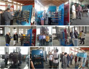 Xlb550 Rubber Tile Making Machine for Making Rubber Brick Vulcanizer pictures & photos