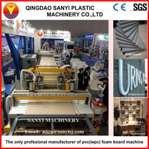 Top Seling PVC Foam Sheet Making Machine/Plastic Machinery pictures & photos