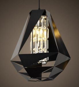 Metal Pendant Lamp with Crystal Shade (WHP-035) pictures & photos