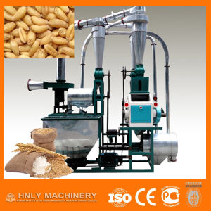 80-120 Mesh Motor or Diesel Driven Wheat Flour Milling Machine pictures & photos