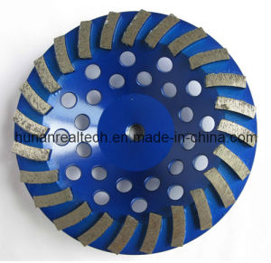 PCD Cup Wheel Grinding Tool with Superabrasive PCD Tips