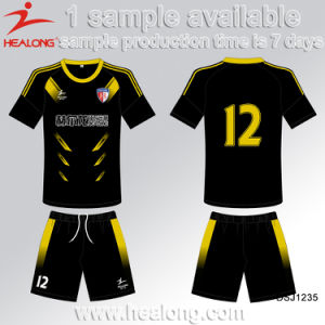Healong Cheap Digital Print National Soccer Team Jersey pictures & photos