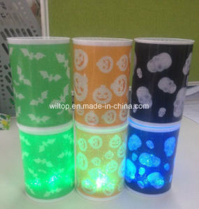 Plastic Halloween LED Light up Candle (LP009) pictures & photos