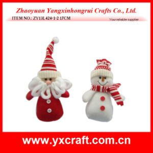 Christmas Decoration (ZY11S113-3-4-5 7′′) Christmas Fabric Gift Product pictures & photos