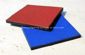 Outdoor Playground Safe Antislip Rubber Floor Mat, Gym Flooring Mat pictures & photos