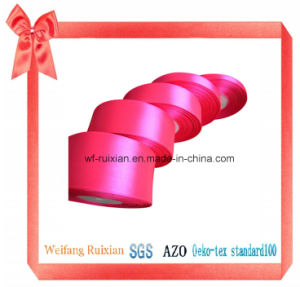 Different Width Satin Ribbons for Decoration Packing Garment