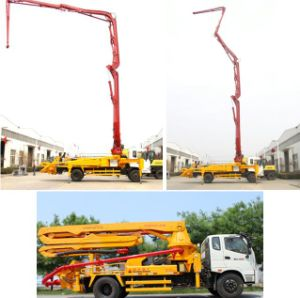 Foton Isuzu Chassis Truck-Mounted Concrete Pump Boom pictures & photos