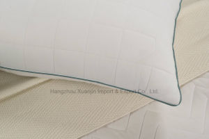 Naturally Hypo-Allergenic Quilted Bamboo Pillow pictures & photos