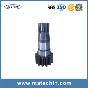 OEM Custom CNC Machining Worm Gear Shaft Forging pictures & photos