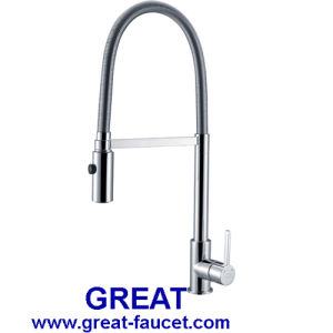 Kitchen Faucet with Shower Spray pictures & photos