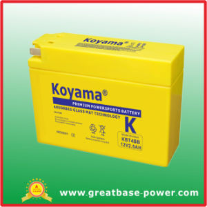 Motorcycle Battery 2.5ah 12V pictures & photos