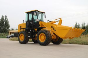 3ton Hydraulic Front Wheel Loader for Sale pictures & photos