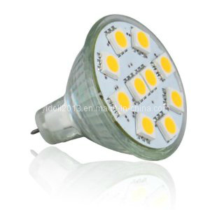 Truck Light Gu4 MR11 6 5050 SMD LED Lamp with Cover pictures & photos