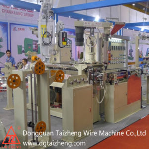 Water Cooling Plastic Cables Extrusion Processing pictures & photos