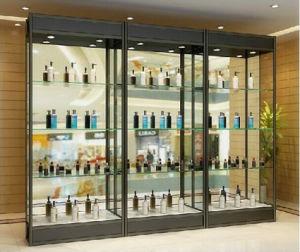 China Modern Fashion Aluminum Glass Display Cabinets - China ...