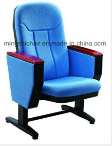 Movable Auditorium Chair with Writing Tablet