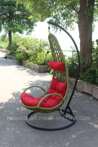 Colorful Rattan Swing Chair for Patio/Beach/Garden pictures & photos