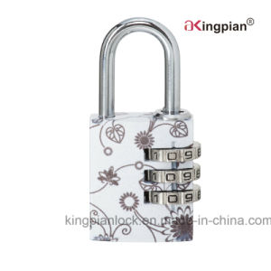Colorful Aluminum Alloy Combination and Code Padlock pictures & photos