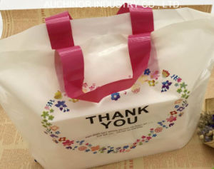Customer Design Rope Handle Plastic Shopping Bag pictures & photos