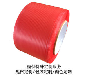 Red Liner Spool Bag Sealing Tape in 10000m Bobbin pictures & photos