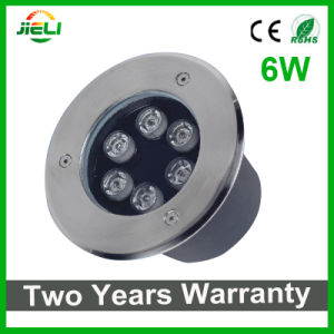 Two Years Warranty 6W 12V RGB LED Underground Light pictures & photos
