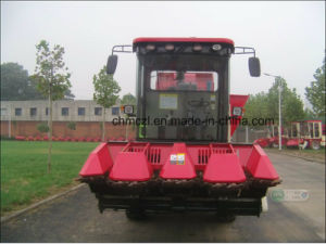 Four Rows Corn Combine Harvester pictures & photos
