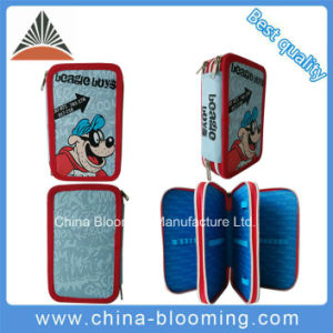 New School Student Polyester Pen Case Pencil Box Stationery Bag pictures & photos