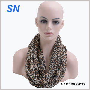 Promotion Polyester Infinity Scarf for Women (SNBL0119) pictures & photos