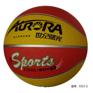 Rubber Basketball High Quality OEM pictures & photos