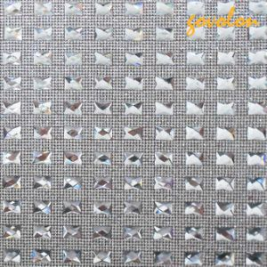 Hot Fix Rhinestone Mesh Sticker pictures & photos