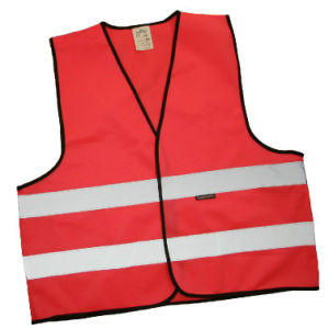 Sports Safety Vests with High Vis Reflex Tape pictures & photos