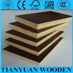18mm Film Faced Plywood Dark Brown Film Faced Plywood pictures & photos