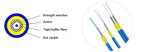 Fiber Optical Armored Patch Cord Fiber Optic Patch Cord for FTTH pictures & photos