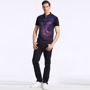Hot Design Summer Custom Fit Business Men Cotton Polo T Shirt for Man pictures & photos