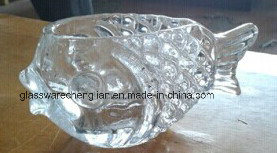 Fish Design of Glass Jar (J-02) pictures & photos