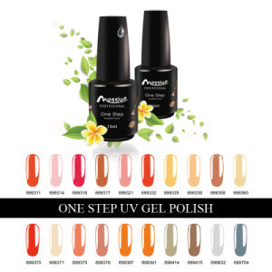 Nail Art Soak off 194 Kinds Colors 15ml One Step Gel Polish pictures & photos