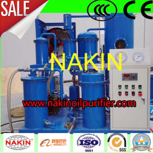 Easy Operation Fully Automatic Vacuum Lubricating Oil Purifier Machine pictures & photos