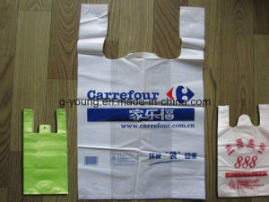 Design Printing Logo HDPE Bag Plastic Shopping Bag pictures & photos