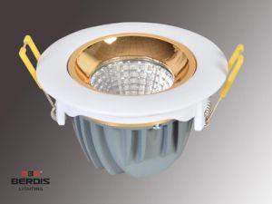 Die casting Aluminum Rotatabled Round recessed LED Downlight housing