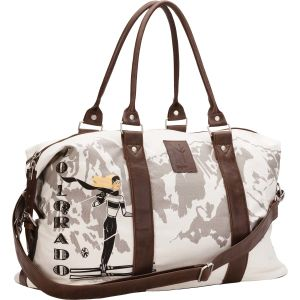 Fashion Lady′s Travel Bag with Detachable Shoulder Strap pictures & photos
