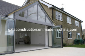Australia Standard Glass Aluminum Bi-Fold Door (AS2208 glass) pictures & photos