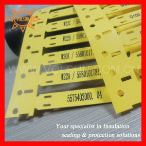 Equivlent as Tyco Rps Wire Identification Tags pictures & photos