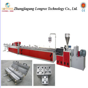 Wood Plastic Fence Production Line pictures & photos