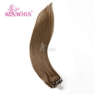 Grade 7A Chinese Virgin Micro Ring Hair Easy Loop Hair pictures & photos