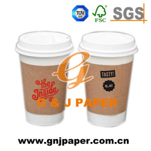 Wood Pulp Single Wall Food Cup Paper Without Lid pictures & photos