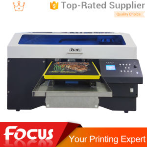 Multicolor T Shirt Printing Machine Custom T-Shirt Printer with White pictures & photos